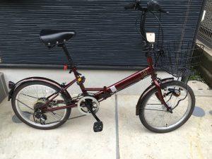 自転車整備後