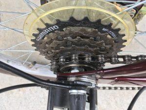 綺麗になった自転車