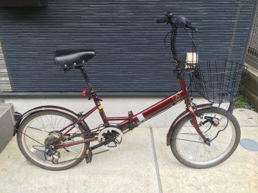 100均グッズで自転車チェーンのサビ取りをする!