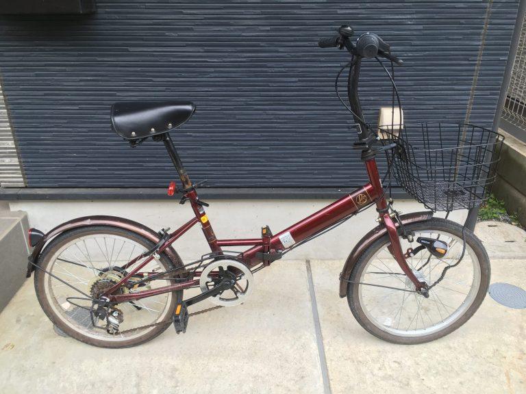 自転車整備前