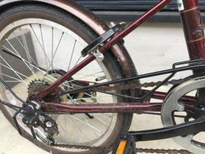 汚い自転車