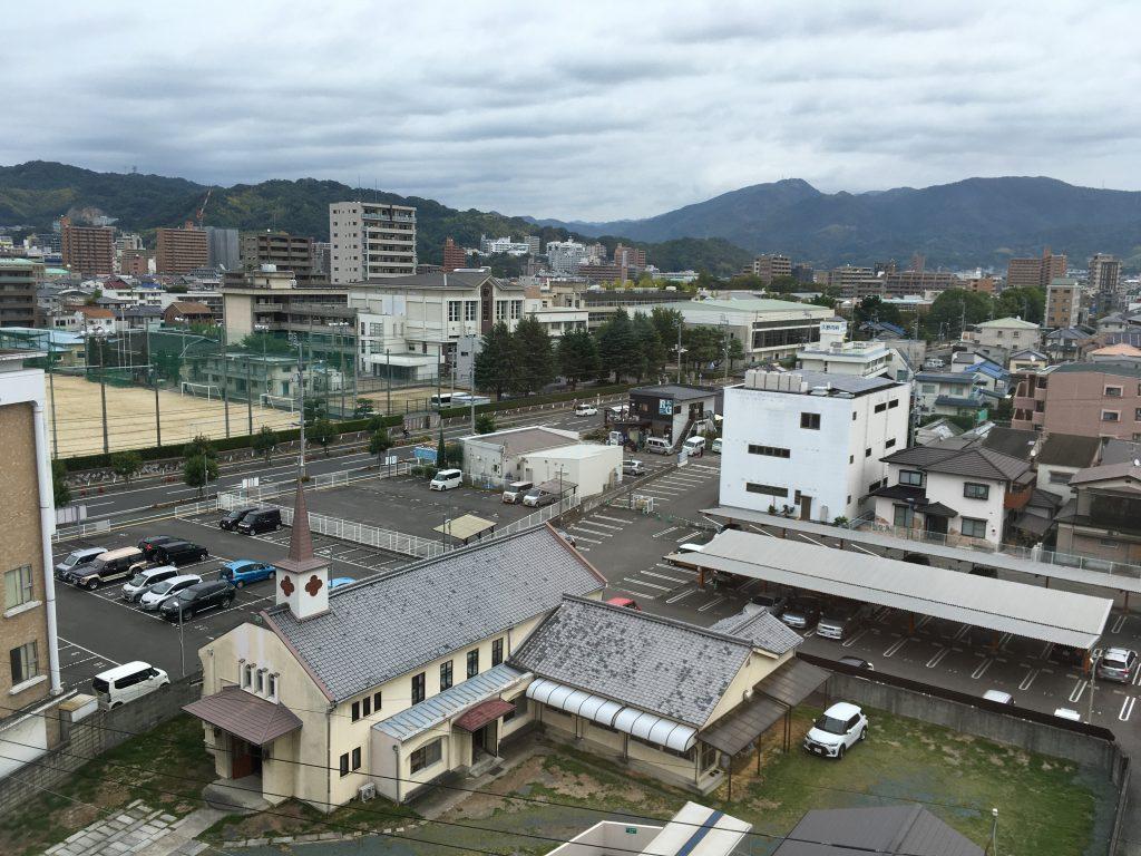 ホテルからの眺望(松山)