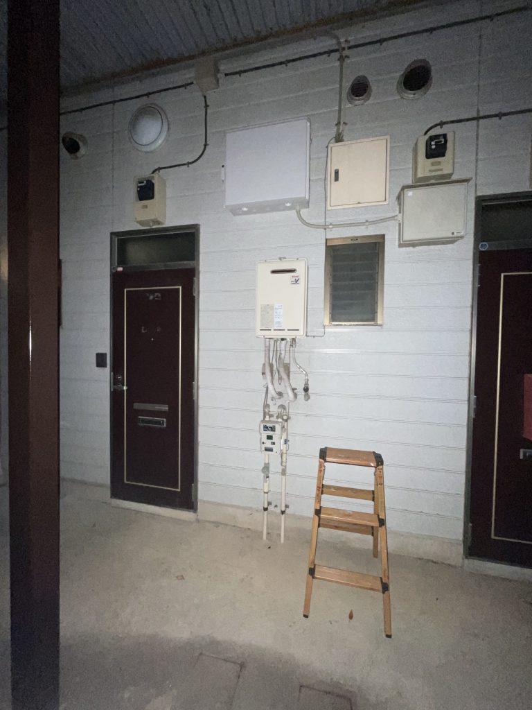 アパート共用部の照明