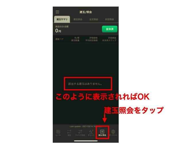 LINEFX_建玉照会
